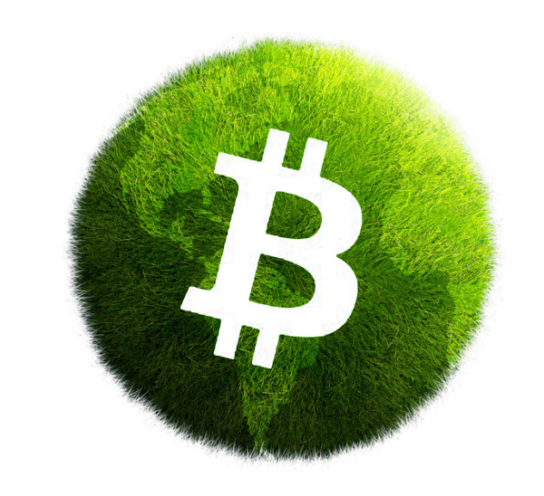 An Order-of-Magnitude Estimate of the Relative Sustainability of the Bitcoin Network